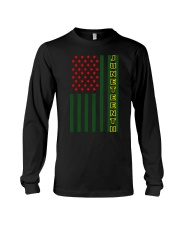 Juneteenth Flag shirt Long Sleeve Tee thumbnail