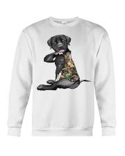 Labrador Retriever Tattoo I love hunting shirt Crewneck Sweatshirt thumbnail