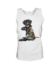 Labrador Retriever Tattoo I love hunting shirt Unisex Tank thumbnail