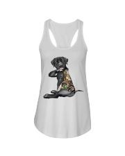 Labrador Retriever Tattoo I love hunting shirt Ladies Flowy Tank thumbnail