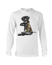 Labrador Retriever Tattoo I love hunting shirt Long Sleeve Tee thumbnail