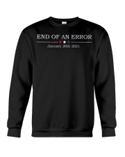 End of an error January 20th 2021 vintage shirt Crewneck Sweatshirt thumbnail