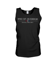 End of an error January 20th 2021 vintage shirt Unisex Tank thumbnail