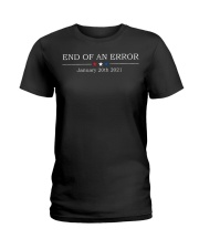 End of an error January 20th 2021 vintage shirt Ladies T-Shirt thumbnail