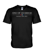End of an error January 20th 2021 vintage shirt V-Neck T-Shirt thumbnail