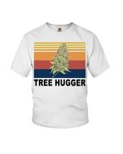 Cannabis weed tree hugger shirt Youth T-Shirt thumbnail