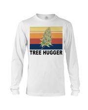 Cannabis weed tree hugger shirt Long Sleeve Tee thumbnail