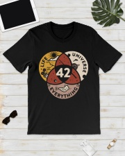 42 The Answer To Life The Universe And Everything Classic T-Shirt lifestyle-mens-crewneck-front-17