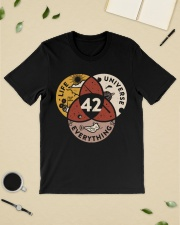 42 The Answer To Life The Universe And Everything Classic T-Shirt lifestyle-mens-crewneck-front-19