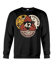 42 The Answer To Life The Universe And Everything Crewneck Sweatshirt thumbnail