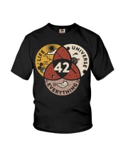 42 The Answer To Life The Universe And Everything Youth T-Shirt thumbnail