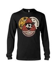 42 The Answer To Life The Universe And Everything Long Sleeve Tee thumbnail