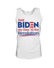 Just biden my time 'til the revolution T-shirt Unisex Tank thumbnail