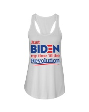 Just biden my time 'til the revolution T-shirt Ladies Flowy Tank thumbnail