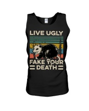 Raccoon Live Ugly Fake Your Death Vintage shirt Unisex Tank thumbnail