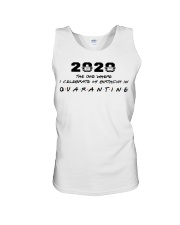 2020 the one where I celebrate my birthday in  Unisex Tank thumbnail