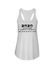 2020 the one where I celebrate my birthday in  Ladies Flowy Tank thumbnail