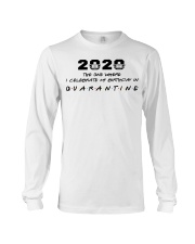 2020 the one where I celebrate my birthday in  Long Sleeve Tee thumbnail