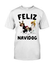 Feliz Navidog Beagle Christmas Classic T-Shirt thumbnail