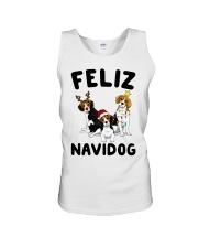 Feliz Navidog Beagle Christmas Unisex Tank thumbnail