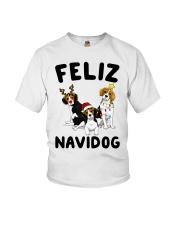 Feliz Navidog Beagle Christmas Youth T-Shirt thumbnail