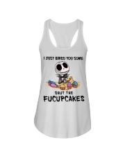 Skellington Just baked you some fucupcakes shirt Ladies Flowy Tank thumbnail