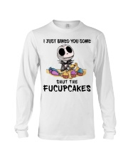 Skellington Just baked you some fucupcakes shirt Long Sleeve Tee thumbnail