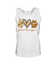 Peace love Paw shirt Unisex Tank thumbnail