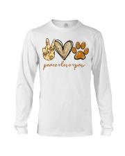 Peace love Paw shirt Long Sleeve Tee thumbnail