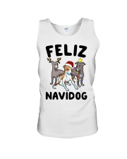 Feliz Navidog Greyhound Christmas shirt Unisex Tank thumbnail