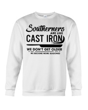 Southerners are like cast iron we don't get Crewneck Sweatshirt thumbnail