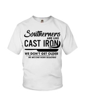 Southerners are like cast iron we don't get Youth T-Shirt thumbnail