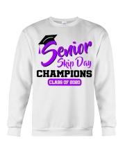 Senior skip day champions class of 2020 purple Crewneck Sweatshirt thumbnail