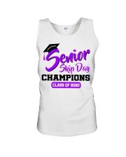Senior skip day champions class of 2020 purple Unisex Tank thumbnail