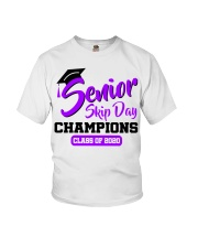 Senior skip day champions class of 2020 purple Youth T-Shirt tile