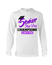 Senior skip day champions class of 2020 purple Long Sleeve Tee thumbnail