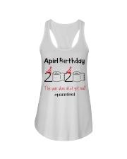 April Birthday 2020 the year when shit got real  Ladies Flowy Tank thumbnail
