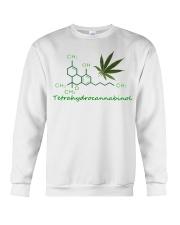 Tetrahydrocannabinol Weed shirt Crewneck Sweatshirt thumbnail