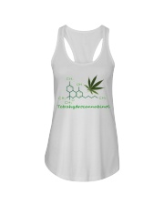 Tetrahydrocannabinol Weed shirt Ladies Flowy Tank thumbnail