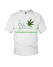 Tetrahydrocannabinol Weed shirt Youth T-Shirt thumbnail