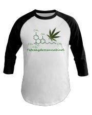 Tetrahydrocannabinol Weed shirt Baseball Tee thumbnail