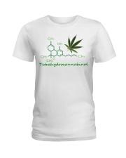 Tetrahydrocannabinol Weed shirt Ladies T-Shirt thumbnail