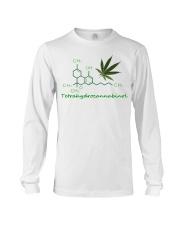 Tetrahydrocannabinol Weed shirt Long Sleeve Tee thumbnail