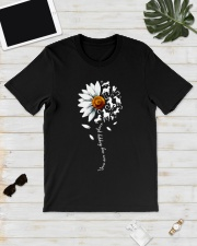 You are my happy place Horse daisy shirt Classic T-Shirt lifestyle-mens-crewneck-front-17