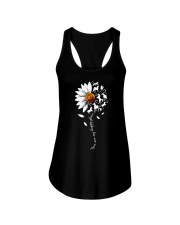 You are my happy place Horse daisy shirt Ladies Flowy Tank thumbnail