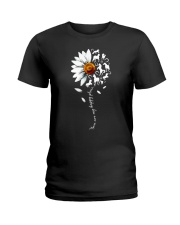 You are my happy place Horse daisy shirt Ladies T-Shirt thumbnail