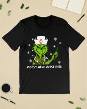 Grinch Nicest mean nurse ever shirt Classic T-Shirt lifestyle-mens-crewneck-front-19