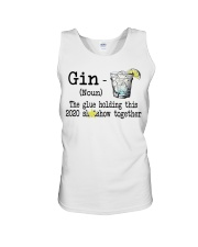 Gin Definition The glue holding this 2020  Unisex Tank thumbnail