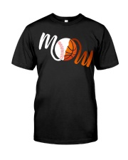 Baseball Mom Basketball Mom shirt Classic T-Shirt front