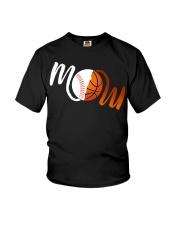 Baseball Mom Basketball Mom shirt Youth T-Shirt thumbnail